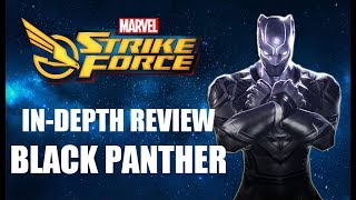 Marvel Strike Force - Black Panther In-Depth Review