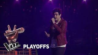 "Playoffs #TeamAxel: Federico Gómez canta ""No podrás"" de Cr..."