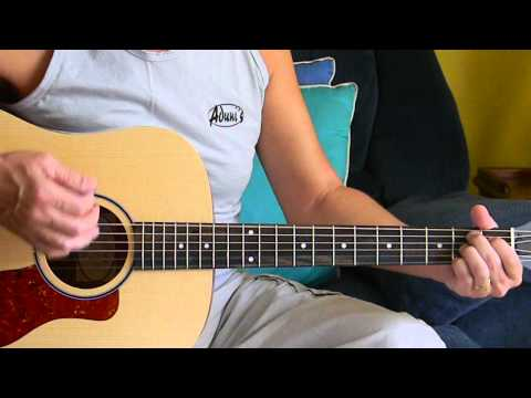 How to Play Amazing Grace - Easy Christian/Gospel Songs on Guitar - L136