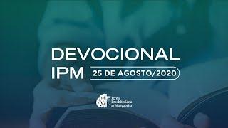 Devocional - IPB Mangabeira - 25/08/2020