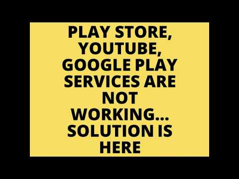 Google Play Services Not Working! Here Is The Solution!! | Rohittheraone