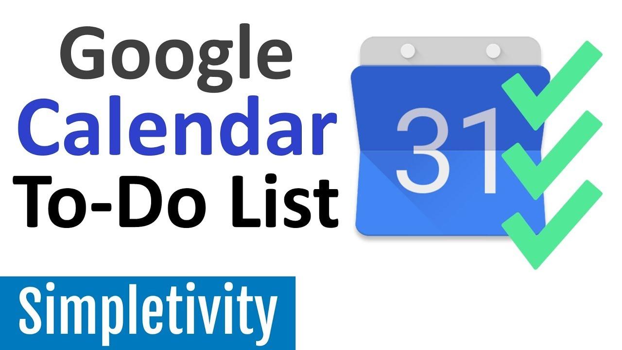 How to Use Google Calendar as a To-Do List (Tips & Tricks)