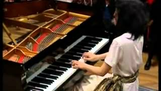 Mozart sonata in C K.545 2nd mov, Mitsuko Uchida Piano