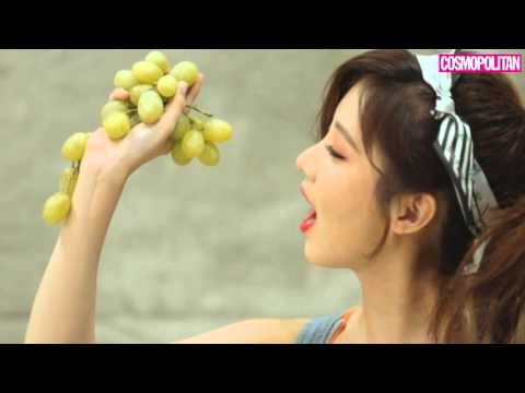 Seohyun - Cosmopolitan Korea January 2016 Behind The Scenes