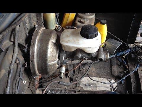 Установка вакуума 06 с тандемом 412 на ЛУАЗ