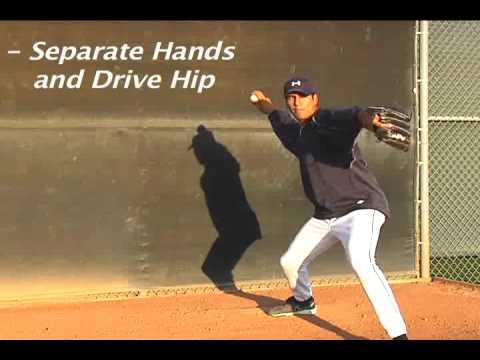 Pitching - Basic 5 steps to baseball pitching - YouTube