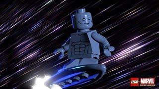 Прохождение игры LEGO MARVEL Super Heroes Свободная игра. 40 серия СЕРЕБРЯНЫЙ СЁРФЕР