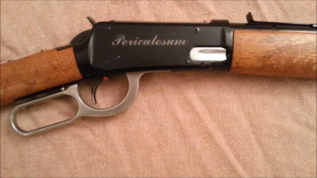 Daisy 1894 Winchester Bb Gun Modification And Restoration Youtube Marlin Model Parts Diagram