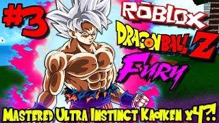 MASTERED ULTRA INSTINCT KAIOKEN TIMES 4?!? WHAT?!? | Roblox: Dragon Ball Fury - Episode 3