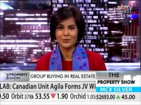 NDTV Property Show - Real Estate Group Buying