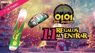 EVENTO DE AÑO NUEVO DE FREE FIRE