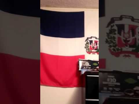 Dominican Republic flag of Awesomeness
