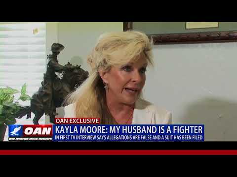 EXCLUSIVE: Kayla Moore Speaks About Husband Roy Moore's Senate Race