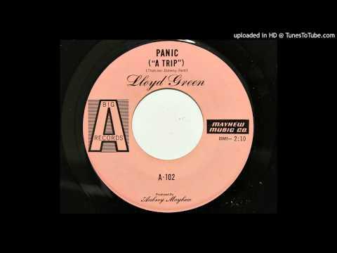 """Lloyd Green - Panic (""""A Trip"""") (Big A 102) [weird 1968 steel guitar instrumental]"""