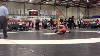 2013 Juvenile National Championships: 50 kg Dave Sharma vs. Bart Duncan