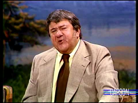 Buddy Hackett Impersonates a Drunk Man, Johnny Carson, 1992
