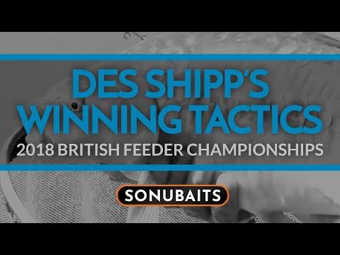 2018 British Feeder Championships - DES SHIPP'S WINNING TACTICS!