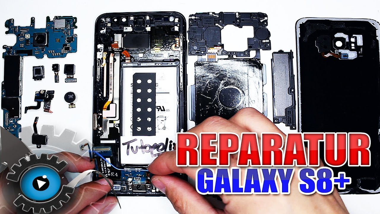 samsung galaxy s8 plus komplette reparatur display. Black Bedroom Furniture Sets. Home Design Ideas