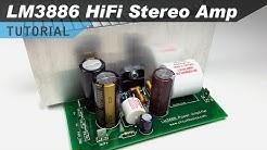 LM3886 Hi-Fi Audio Amplifier Design Tutorial