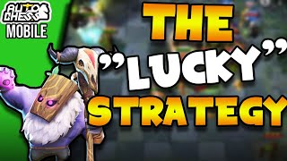 """Using the """"Lucky"""" Strategy - OPEN FORT into Glacier Knights to climb ranks easily!   Auto Chess"""