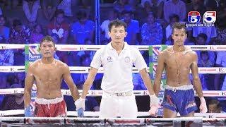 Kun Khmer Fighters: ណាម ម៉ូរ៉ាក់ Vs ពុទ្ធ សំបូរ, TV5 Knock Out, 25/August/2018