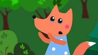 Nursery Songs For Kids - Foxy - Animation For Children - Learn Colors