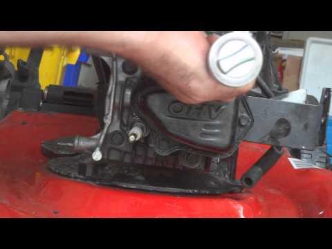 Briggs 550 ex head gasket swap and valve fix.