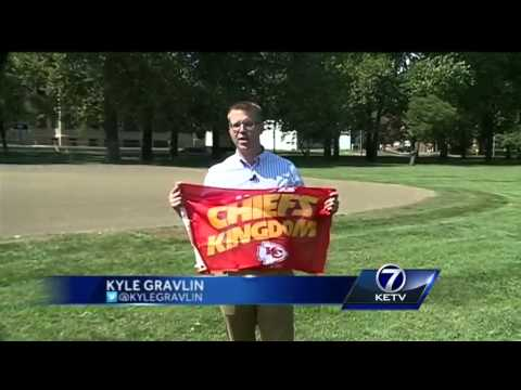 Kansas City Chiefs Flags To Be Sold In Omaha For Good Cause