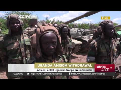 Uganda to withdraw troops from Somalia next year
