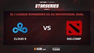 Cloud 9 vs Digital Company, Game 1, SL i-League StarSeries Season 3, EU