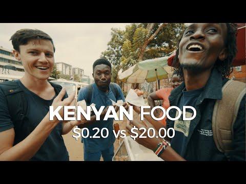 Kenyan Food - $0.20 vs $20.00