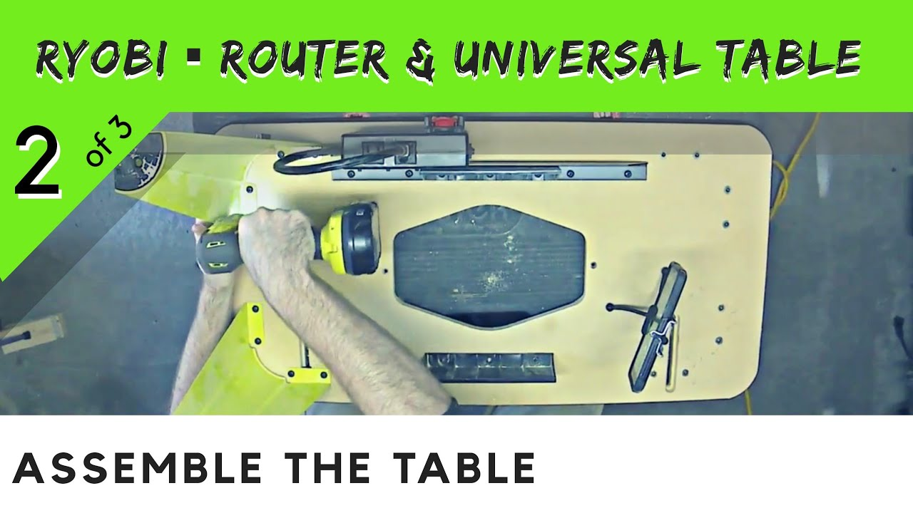 2 of 3 ryobi universal table router setup about the table youtube 2 of 3 ryobi universal table router setup about the table keyboard keysfo Images