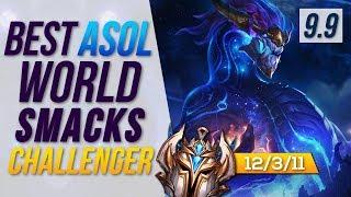 Rank 1 Aurelion Sol World SMURFS in NA CHALLENGER - League of Legends Patch 9.9