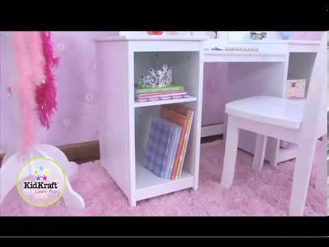 Tocador Y Silla De Lujo Kidkraft 13018 Youtube