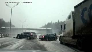 УБИЙСТВЕННАЯ АВАРИЯ!!! На шоссе Киева трагедия!!! УЖАС!!!