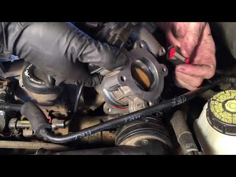 Throttle Body Cleaning Diesel 2.0 Cruze Chevy