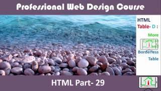 HTML 5 Bangla (Table- D : Border less Table Like Frame) Part- 29 Mp3