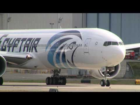 Egypt Air Takeoff