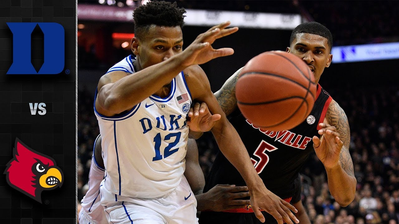 Duke Vs Louisville Basketball Highlights 2018 19 Youtube
