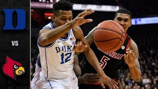 Duke vs. Louisville Basketball Highlights (2018-19)