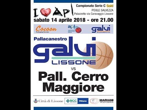 2018 04 14 AP Galvi LIssone vs Pall  Cerro Maggiore