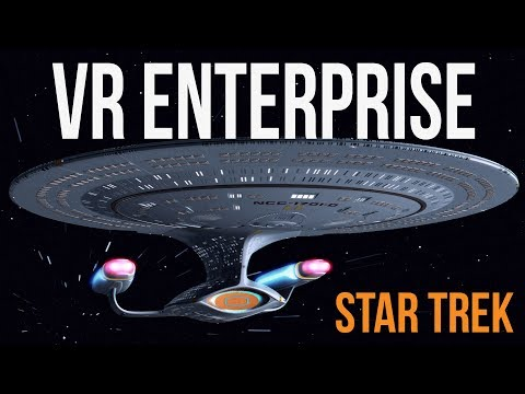Exploring Star Trek Enterprise D (RED ALERT!)