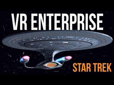 Exploring Star Trek Enterprise D (RED ALERT!)