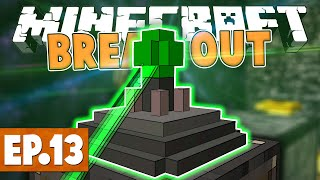 Minecraft Break Out - LASER ITEM TRANSFER! #13 [Modded Challenge Map]