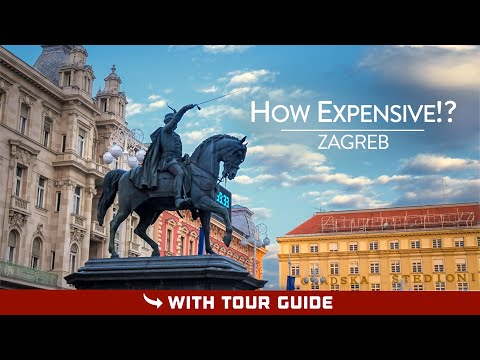 Can You Afford ZAGREB?! - Zagreb Prices & Travel Costs