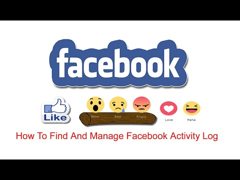 How To Find And Manage Facebook Activity Log