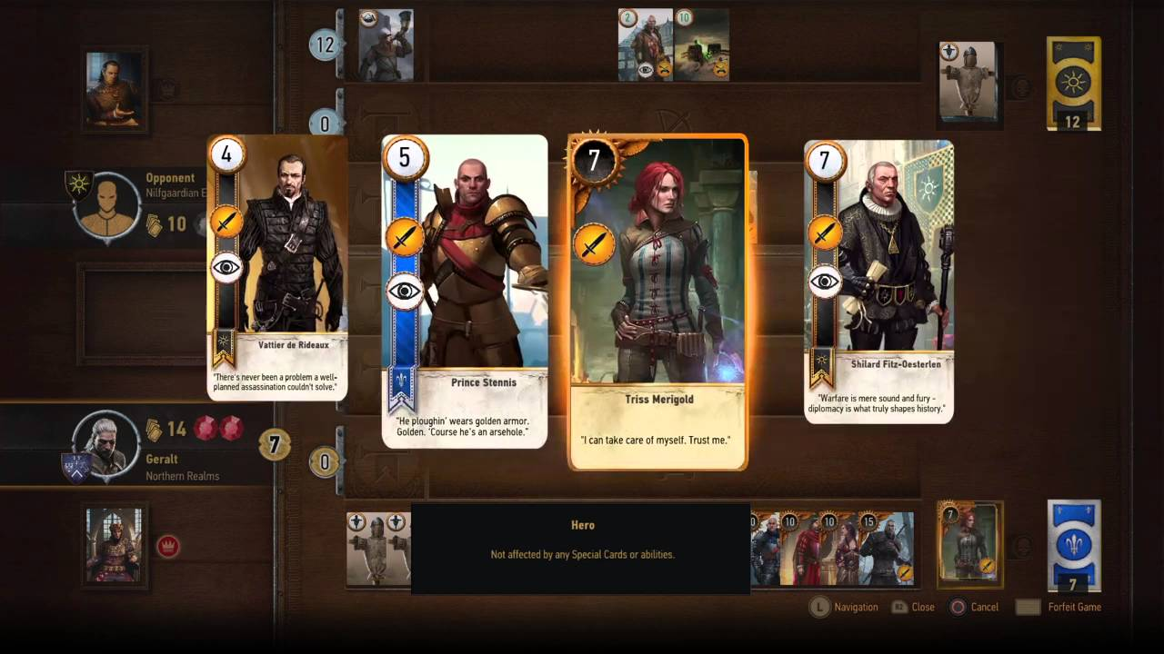 The Witcher 3 Hearts Of Stone Gaunter O Dimm Gwent Card Youtube