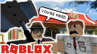 abusing manager powers on roblox mcdonalds