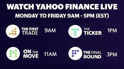 LIVE market coverage: Friday May 1 Yahoo Finance