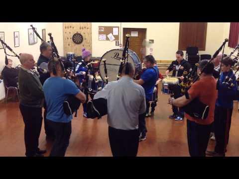 Killen Pipe Band 2/4 set